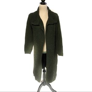 Style & Co. Green Duster Cardigan size medium